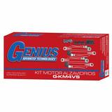 Kit Motor Alzavidrios Genius 4p Instalado