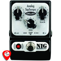 Pedal Nig Analog Tap Tempo Delay True Bypass