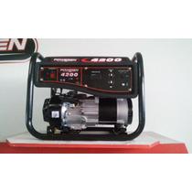 Planta De Luz Generador 4200 Watts A/manual Marca Poweren