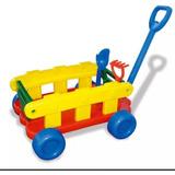 Carro Arrastre Wagon Con Pala Y Rastrillo San Remo Cargo