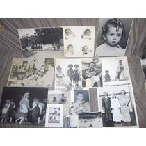 Lote 15 Fotos Antigas De Crianças