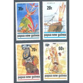 Papua Nueva Guinea Trajes Tipicos Y Ornamentos