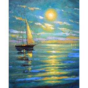 La Luna - Cuadros, Pinturas Al Oleo De Dmitry Spiros