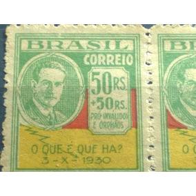 Top Brasil- Selo Raro C29 1931 Rev. De 30, Erro De Impressão