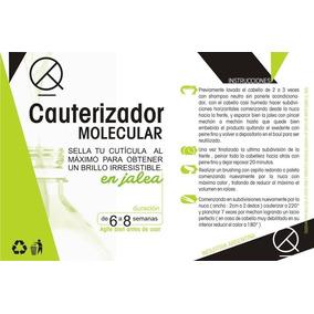Cauteriz. Molec+ Alisado Mota Gel+ Shock Keratina Liq. X 5l