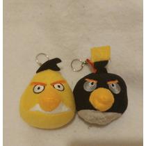 2 Llaveros Angry Birds 9cms Altos Nuevos