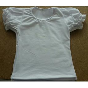 Blusas Para Niña En Blanco Para Sublimar