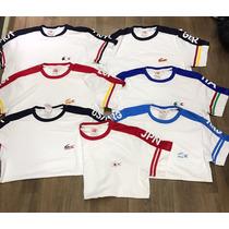 Camiseta Lacoste Paises Peruana Pronta Entrega