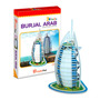 Quebra Cabeça 3d Educativo Hotel Buj Al Arab