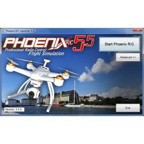 Simulador Voo Phoenix Rc 5.5 Completo - Frete Grátis