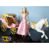 Carruagem Boneca Lullie Tenho Barbie Bratz Susi Estrela