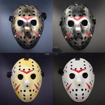 Máscara Do Jason Vorhees Halloweem Festas Cosplay 4 Modelos