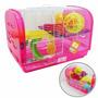 Gaiola Casa Para Hamster Super Completa! - 45x30x30cm