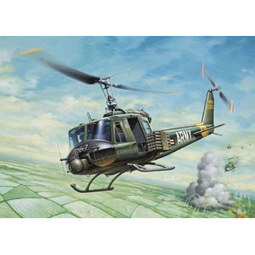 Kit Para Montar Italeri 0040 Bell Uh-1b Huey Vietnan - 1:72