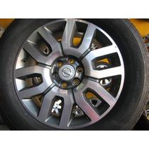 Rodas Nissan Frontier 2014 Aro 18 Com Pneus 255/60/18 Novos
