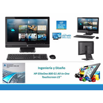 Hp Aio Elite One 800 G1 Core I7 4790s 3.2/1*8gb/1tb/23 Touch