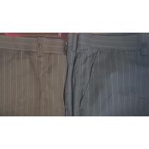 Pantalon De Vestir De Marca Pier Cardin Van Heusen Drill