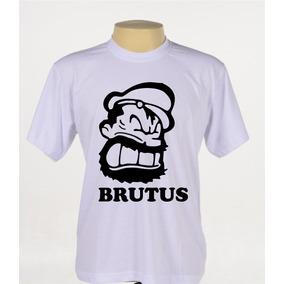 Camisa Camiseta Desenho Brutus Popeye Marinheiro Olivia