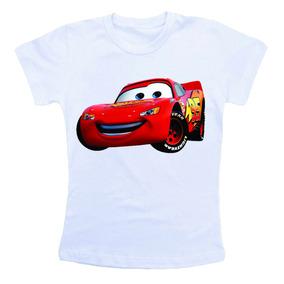 Camiseta Infantil Personalizada - Carros Desenho Animado