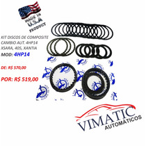 Kit Discos De Composite Cambio Automatico 4hp14 - Xsara, 405