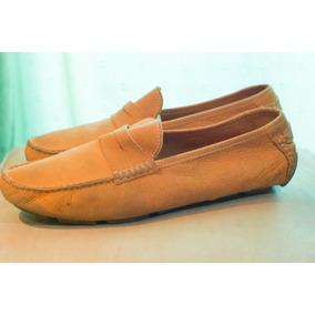 Zapatos Mocasines De Hombre Cuero