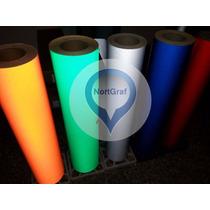 Vinilo Reflectivo 62cm De Acho -plotter Gráfica Stickers