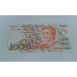 Nota Antiga De 100 Cruzeiros