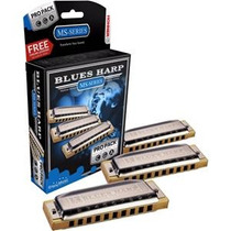 Hohner Armonica 532/20 Blues Harp Pro Pack