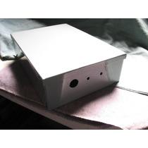 Gabinete Metalico Proteccion 25 X 22 X 5 Cm Syscom G-048