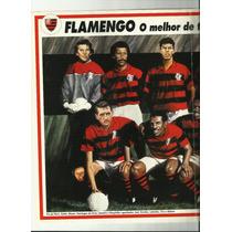 Poster Flamengo O Melhor De Todos Os Tempos 1994 Placar