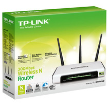Roteador Tl Wr941nd 300mbps Wireless N 3antenas Wifi