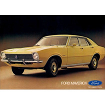Borrachas Kit -jogo- Ford Maverick 4 Portas - Especial