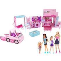 2013 Barbie Hermanas Deluxe Camper Bundle Set De Juegos Con