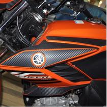 Adesivo Protetor Aba + Carenagem Sup Moto Yamaha Fazer 150