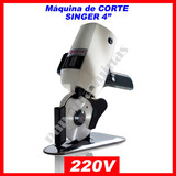 Maquina De Cortar Tecido - 950c - Singer 220volts! Nova!