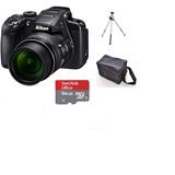 Camera Nikon B700 4k Uhd 30p Zoom 60x 20.2mp + 32gb + Bolsa