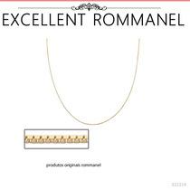 Rommanel Corrente 42cm Veneziana Fina 0,6m Banho Ouro 531314
