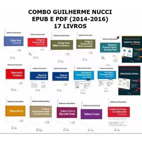 Combo Guilherme Nucci 20 Livros Epub