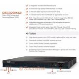 Router Cisco 2900 Series - 2901 K9 V02