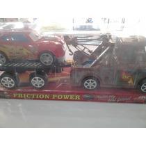 Set De Grúa Matte + Carro Cars 2 De Fricción
