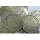 Moneda México $5000 Expropiación Petrolera Cupro-níquel 1988