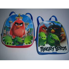 Mochilas Dulcero Libros Stickers Bolos Fiesta Angry Birds