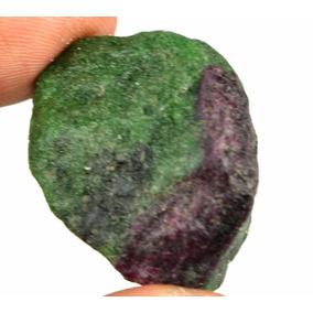 Rubi Sandia Rojo Verde Regalo Navidad Amuleto Reiki Bruto