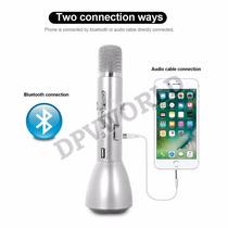 Microfono Inalambrico Karaoke Altavoz Power Bank Parlante