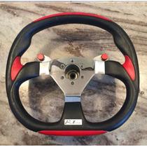 Volante Esportivo Shut Com Botão Para Turbo