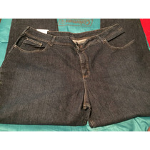 Jeans Lee Riders Slim You 24r/44-46x32-34 D Dama