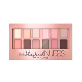 Paleta De Sombras The Blushed Nudes Maybelline
