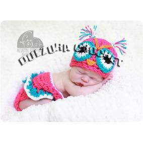 Conjunto Gorro Falda Bebita Tejido Crochet Regalo Babyshower