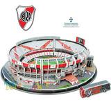 Estadio Monumental Cancha River Puzzle 3d Maqueta Nanostad