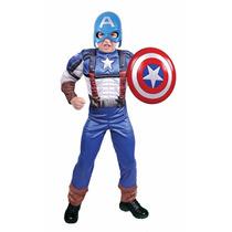 Disfraz Disfraces Capitan America Marca Carnavalito
